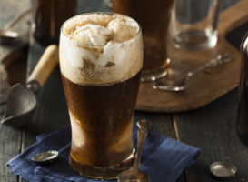 Stout floats - piwo i lody